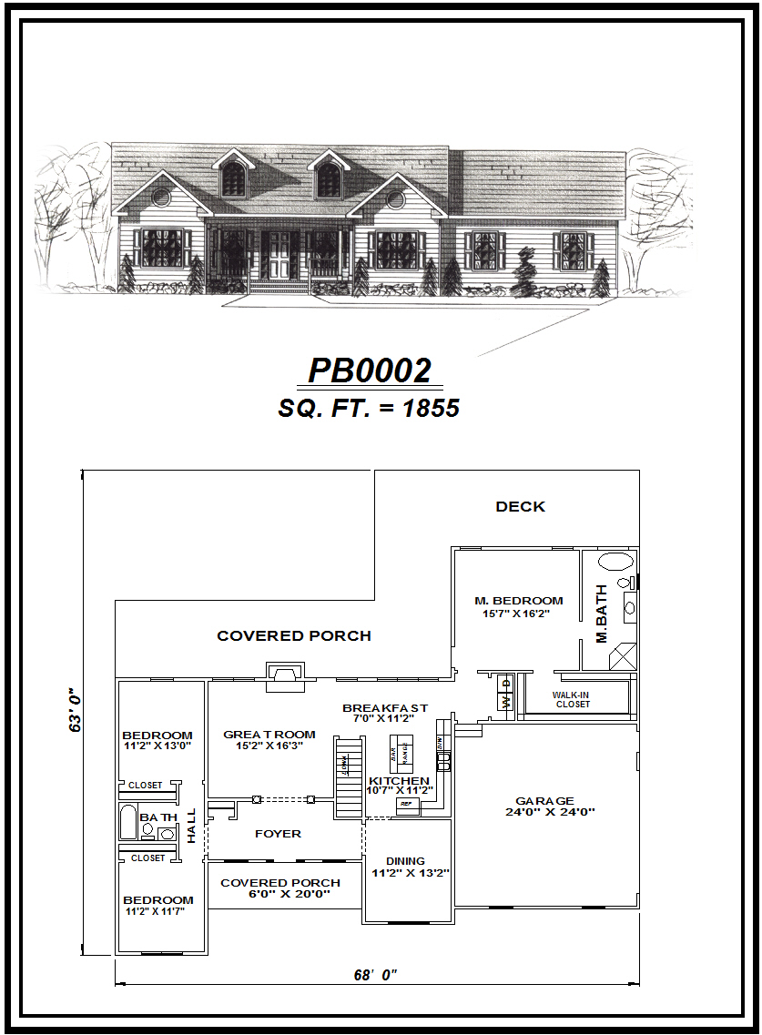 picture of house plan #PB0002