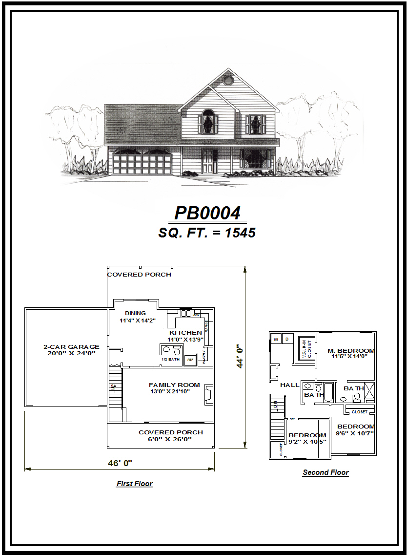 picture of house plan #PB0004