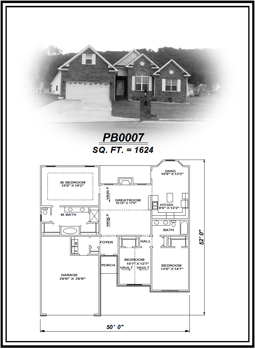 picture of house plan #PB0007