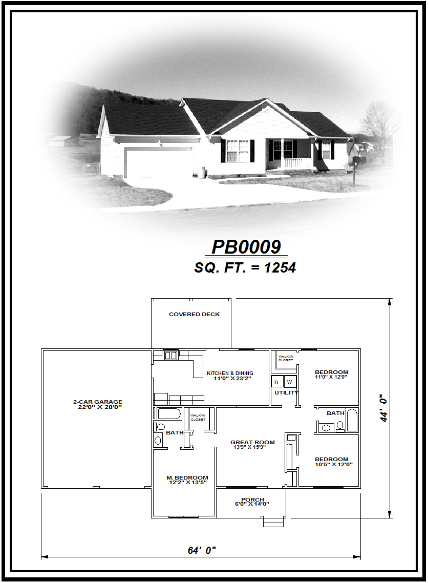 picture of house plan #PB0009