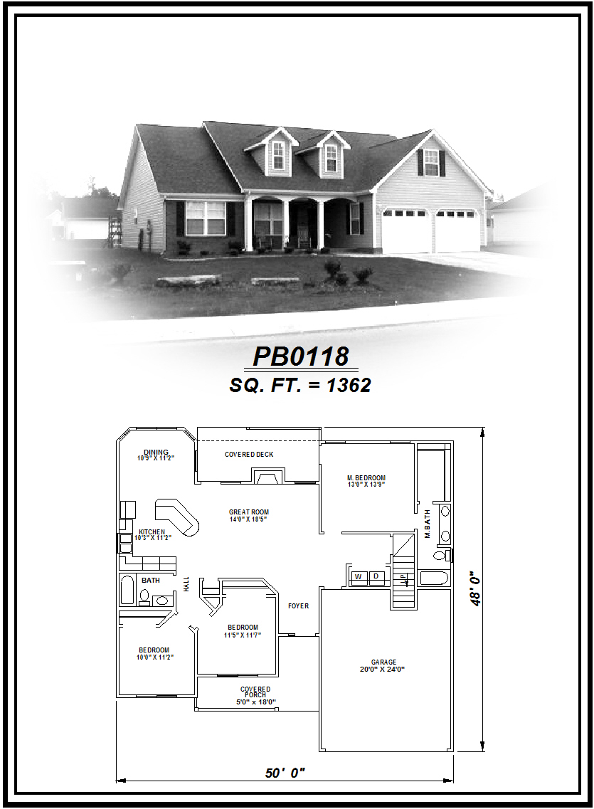 picture of house plan #PB0118
