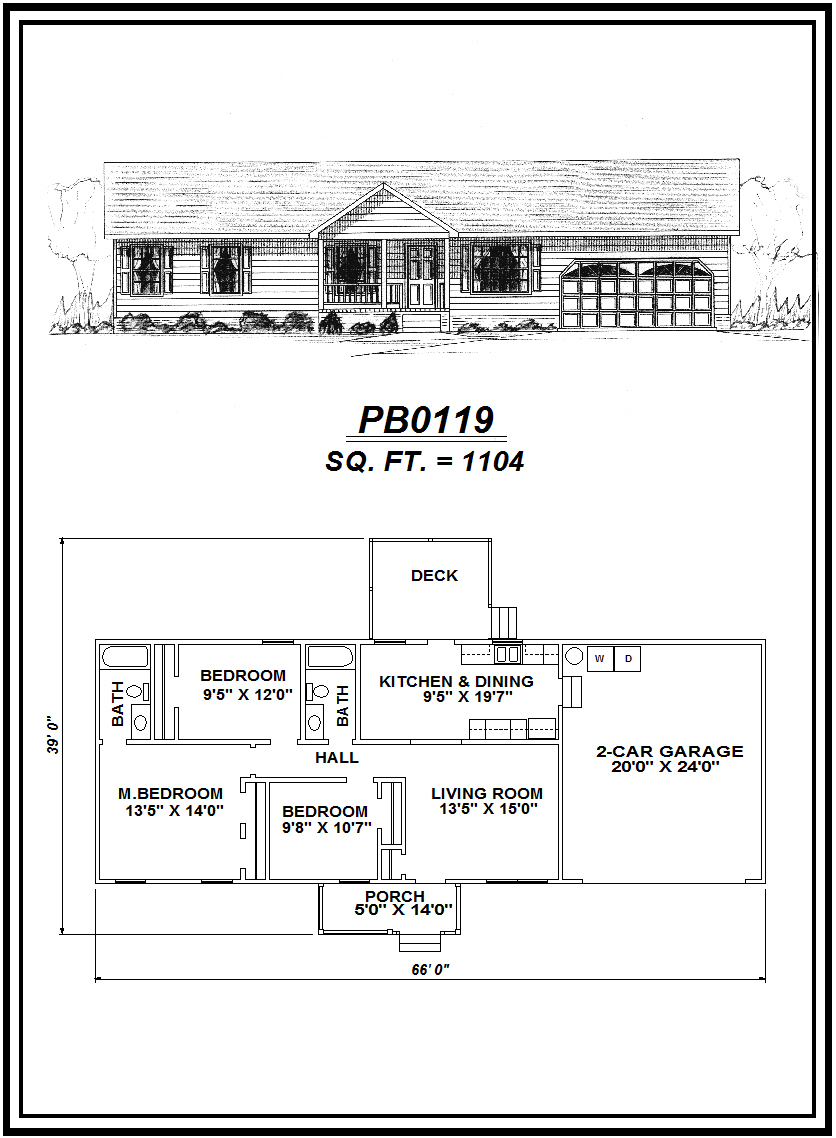 picture of house plan #PB0119