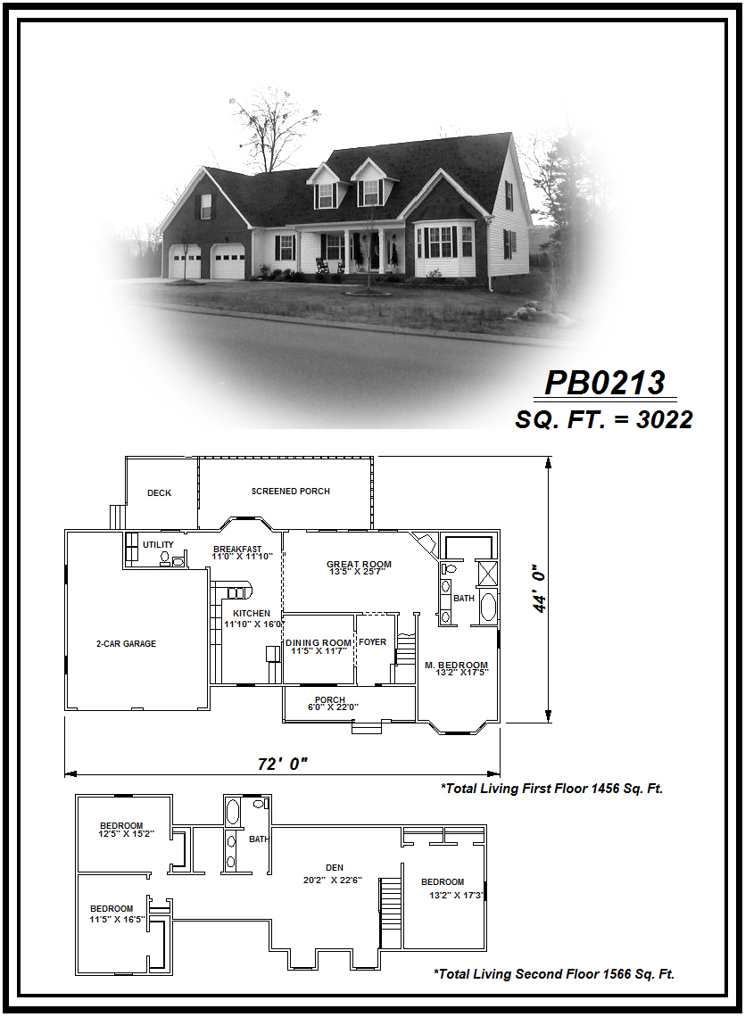 picture of house plan #PB0213