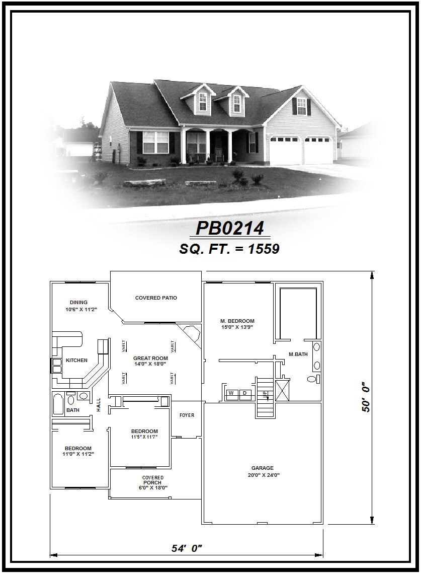 picture of house plan #PB0214
