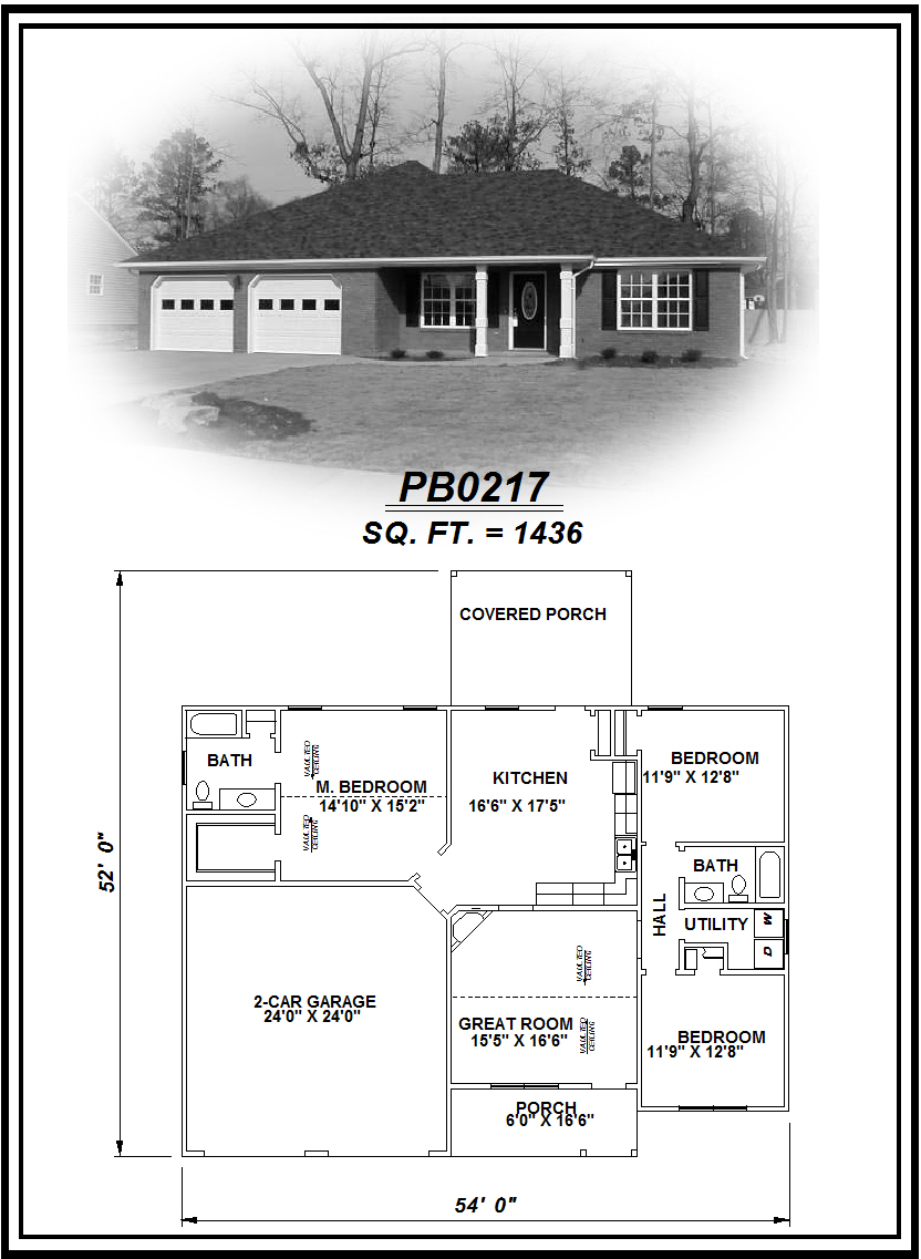 picture of house plan #PB0217