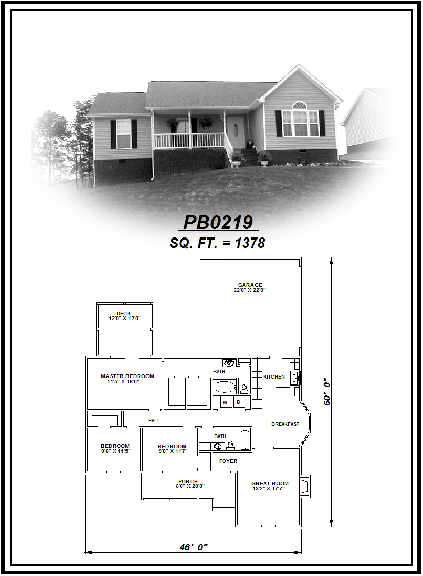 picture of house plan #PB0219