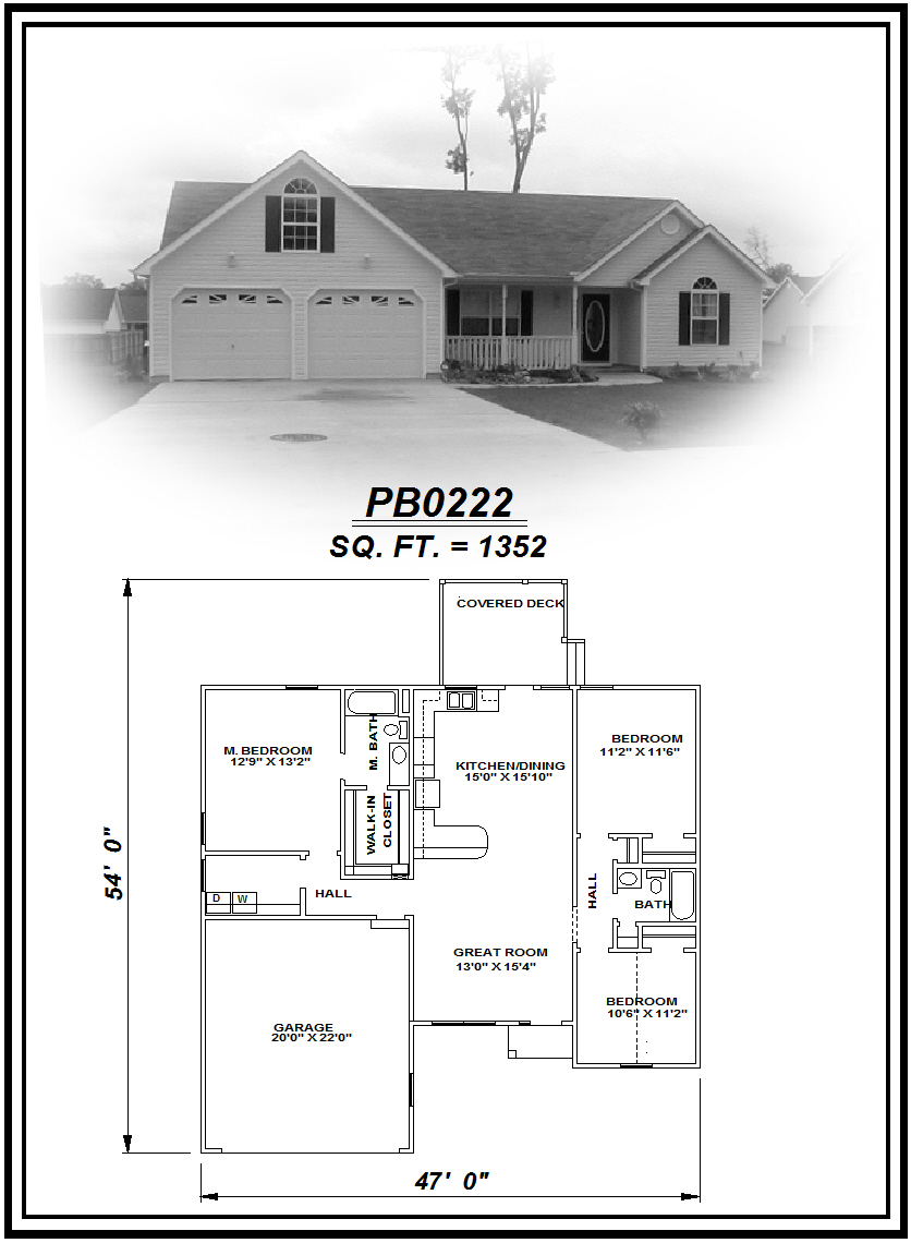 picture of house plan #PB0222