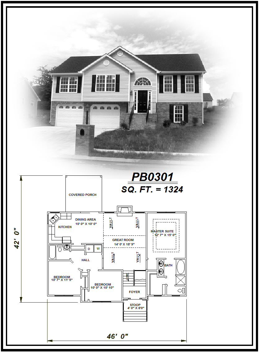 picture of house plan #PB0301
