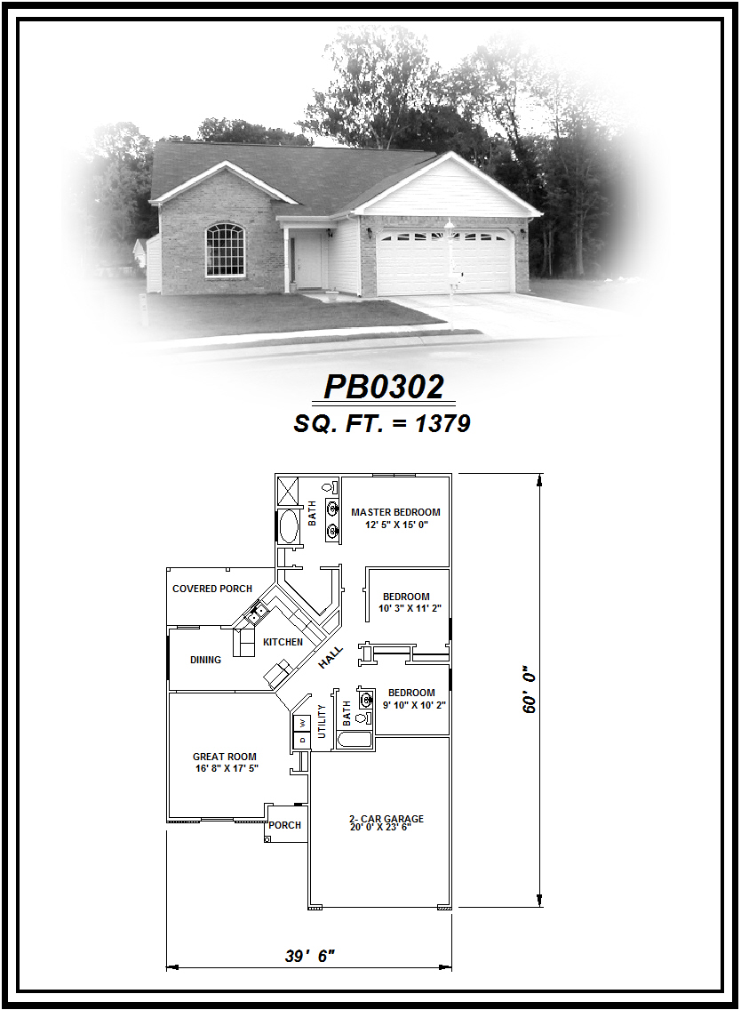 picture of house plan #PB0302