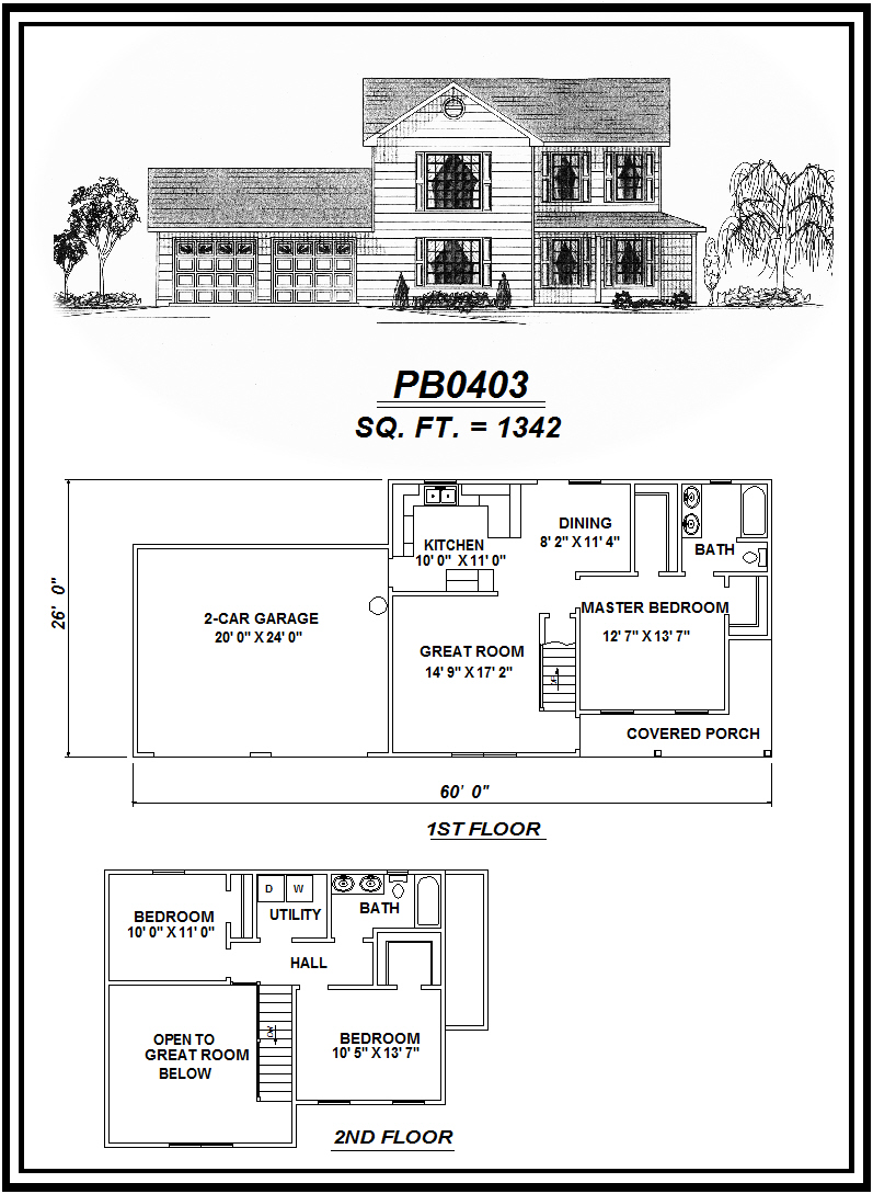 picture of house plan #PB0403