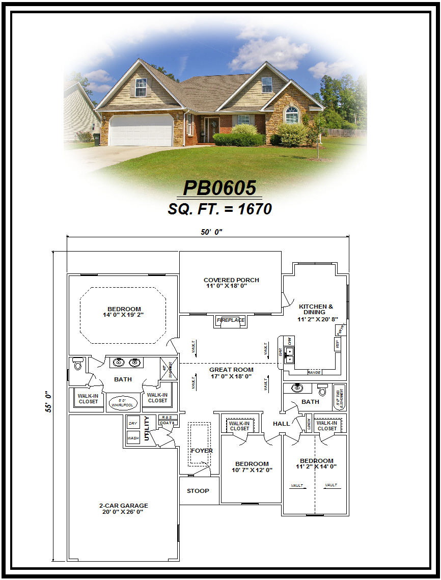 picture of house plan #PB0605