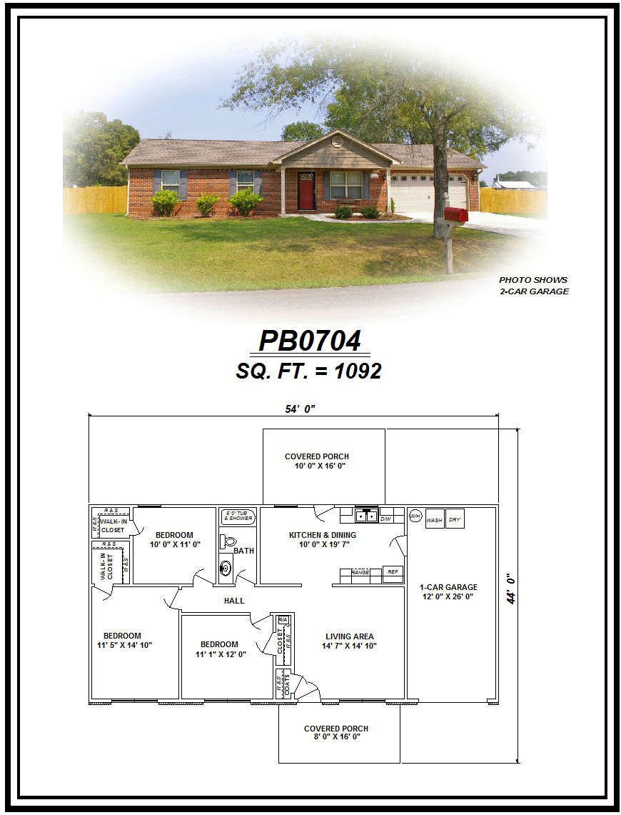 picture of house plan #PB0704
