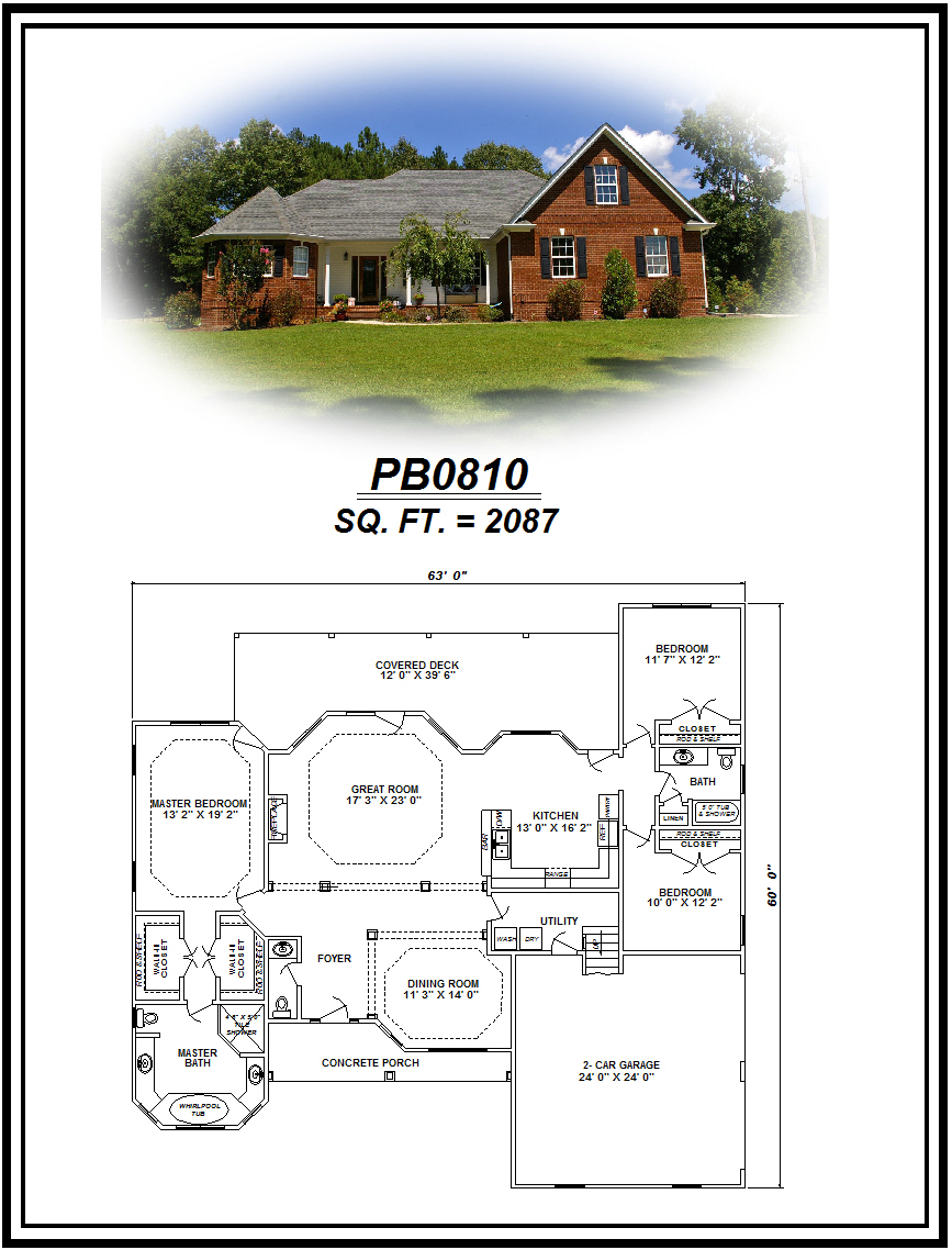 picture of house plan #PB0810