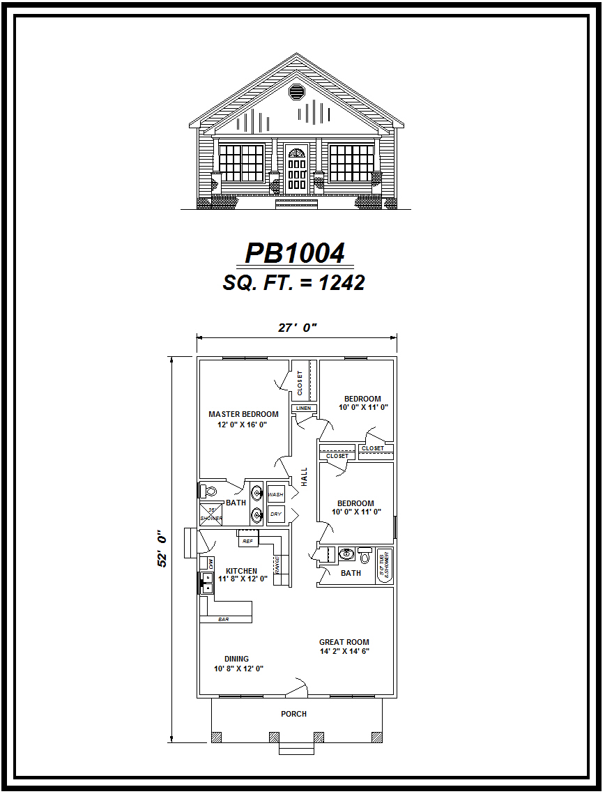 picture of house plan #PB1004