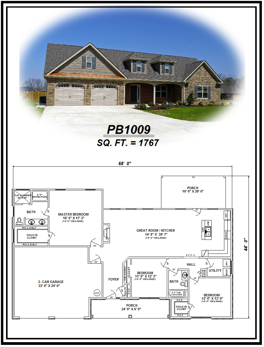 picture of house plan #PB1009