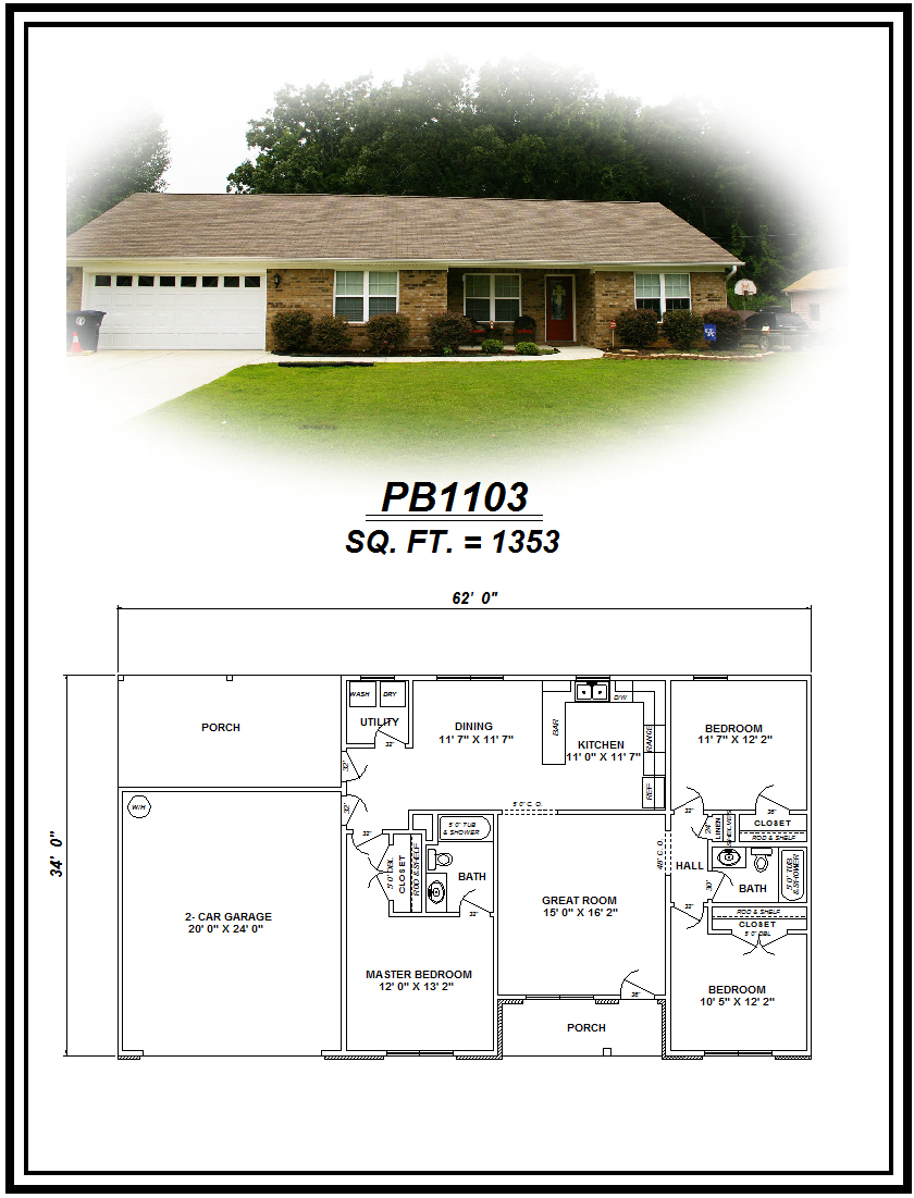 picture of house plan #PB1103