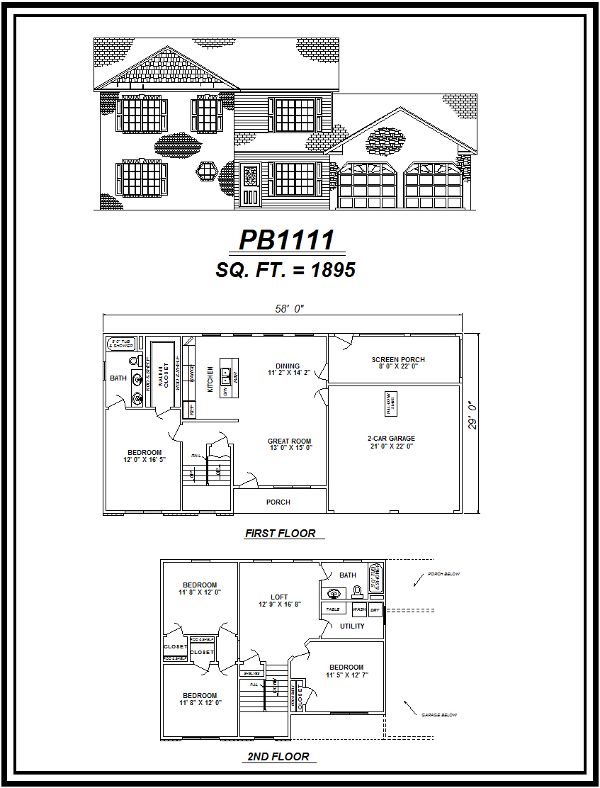 picture of house plan #PB1111