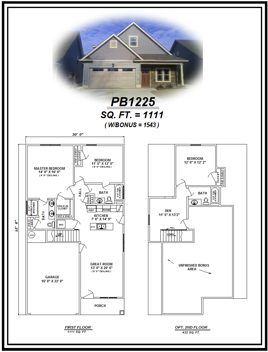 picture of house plan #PB1225
