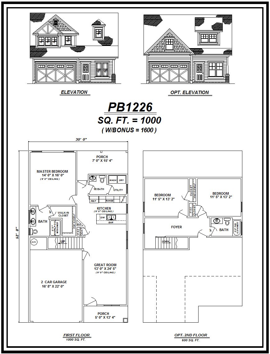 picture of house plan #PB1226