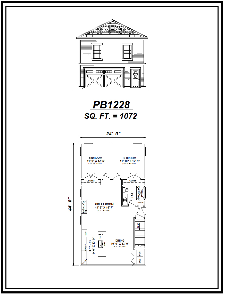 picture of house plan #PB1228