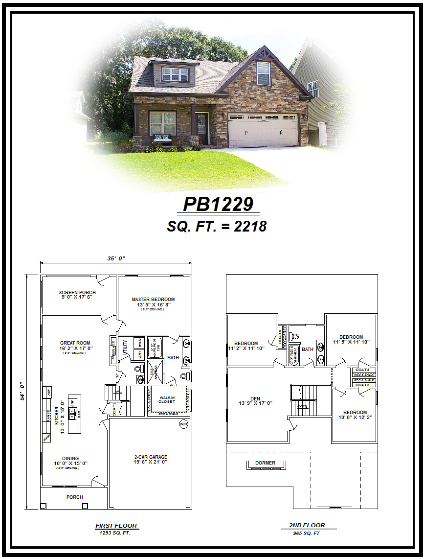 picture of house plan #PB1229