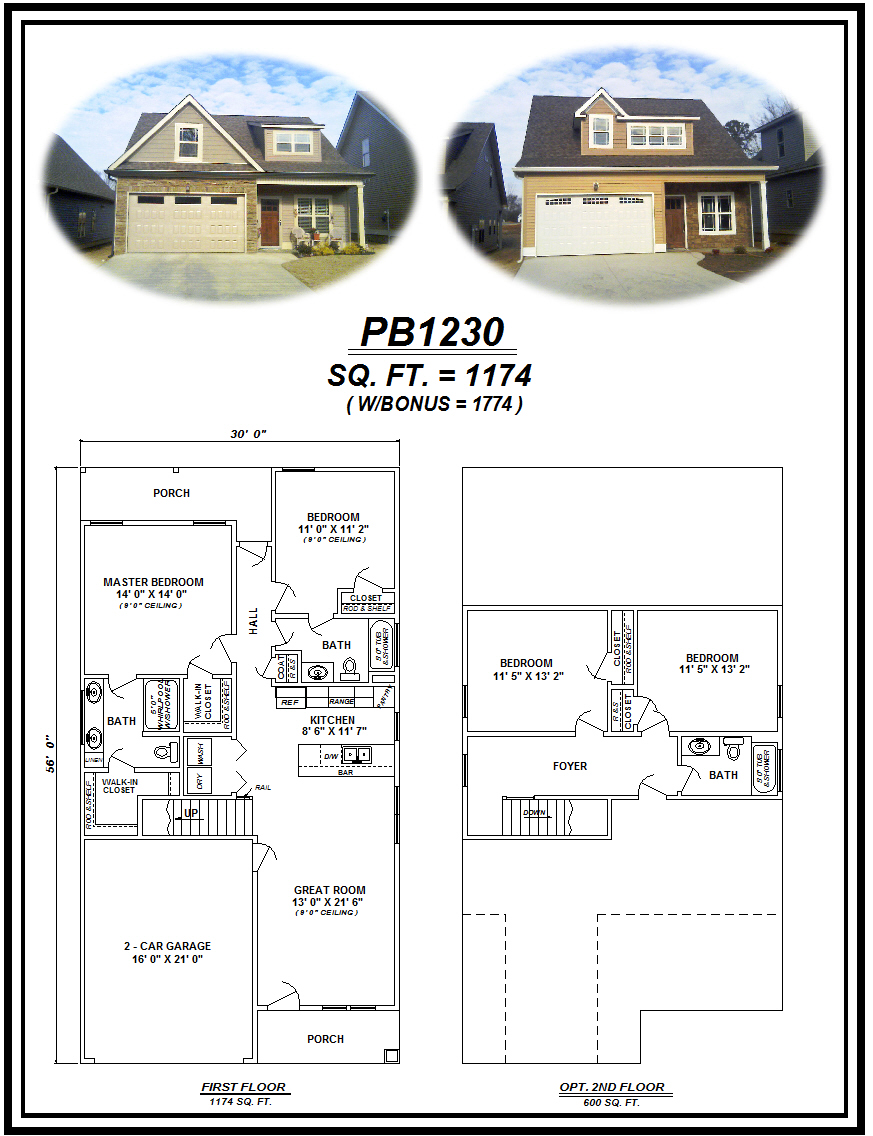 picture of house plan #PB1230