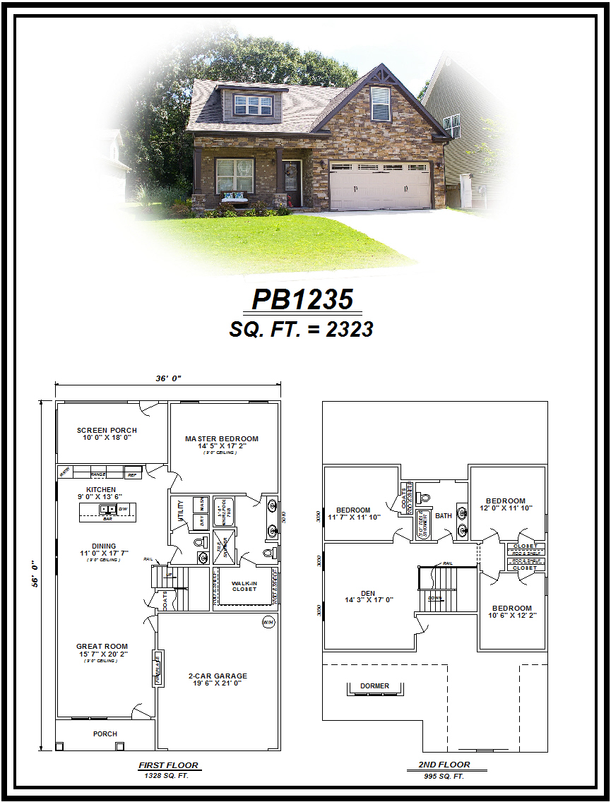 picture of house plan #PB1235