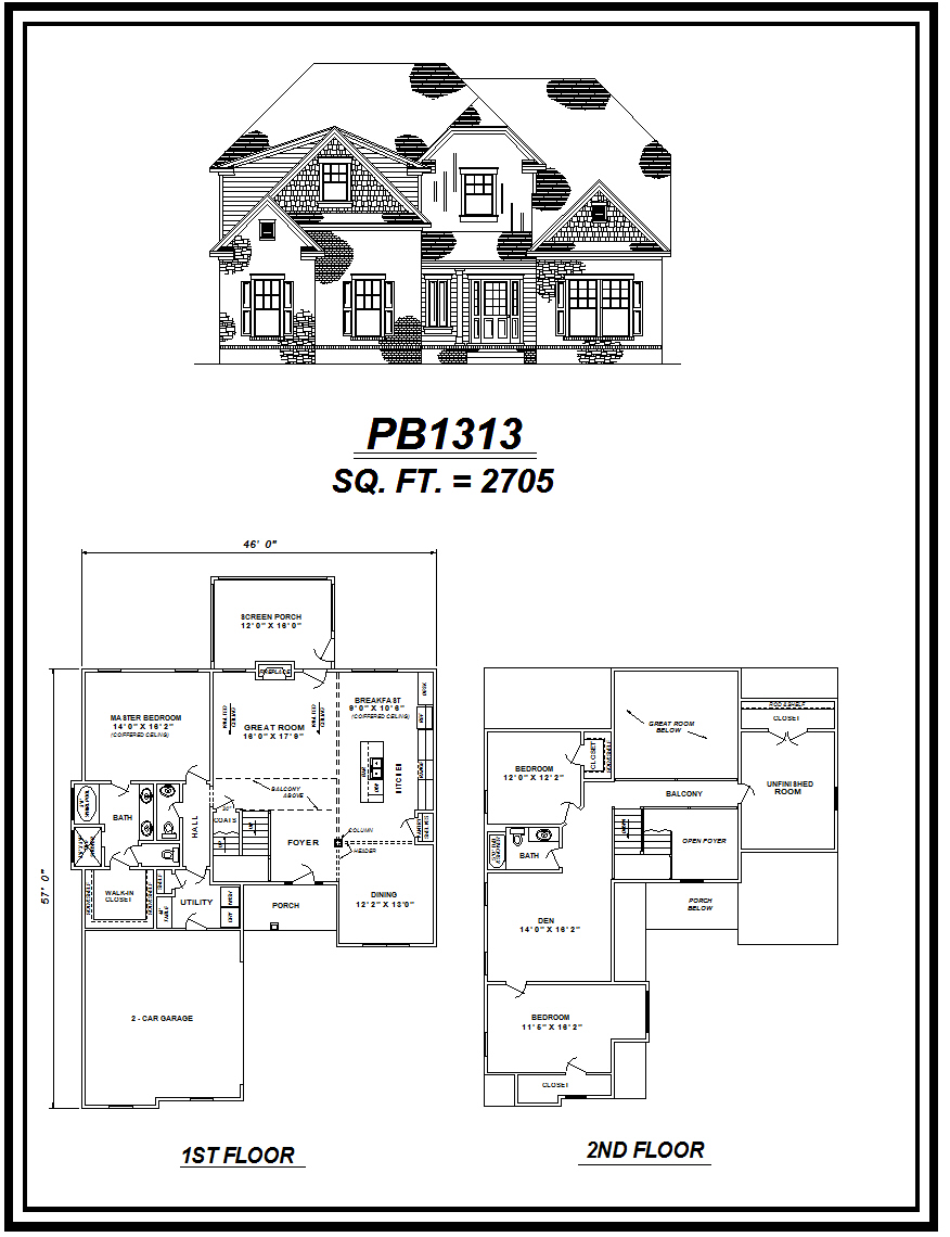 picture of house plan #PB1313