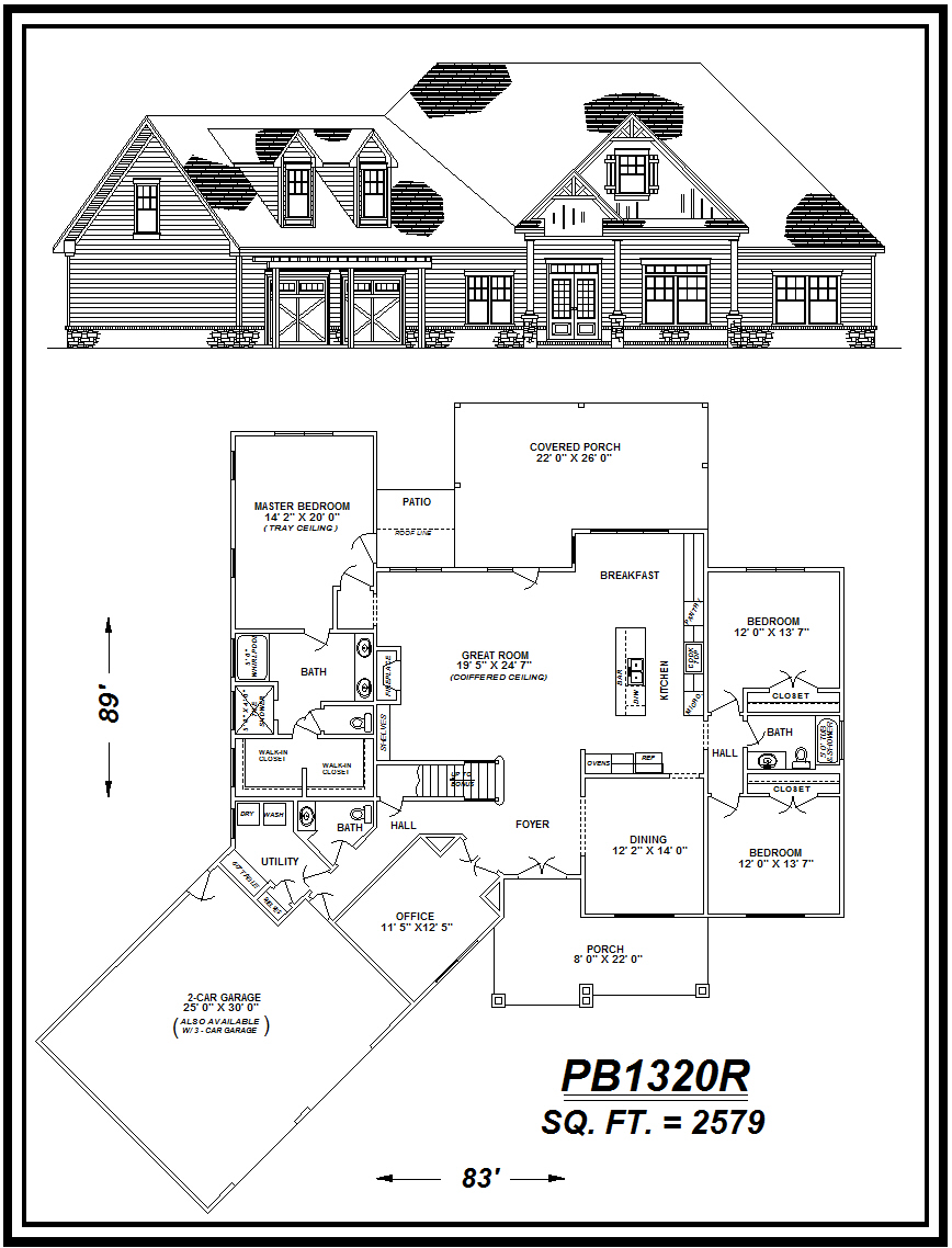 picture of house plan #PB1320R
