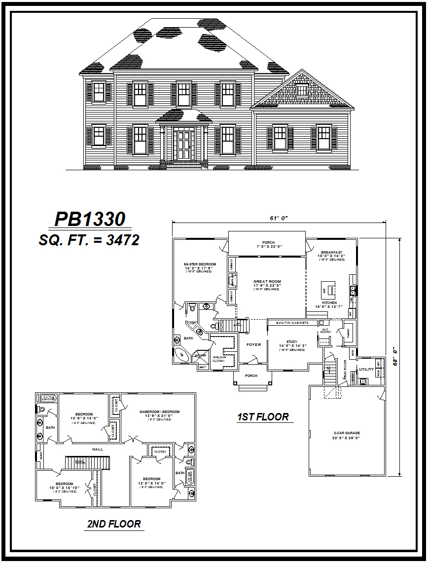 picture of house plan #PB1330