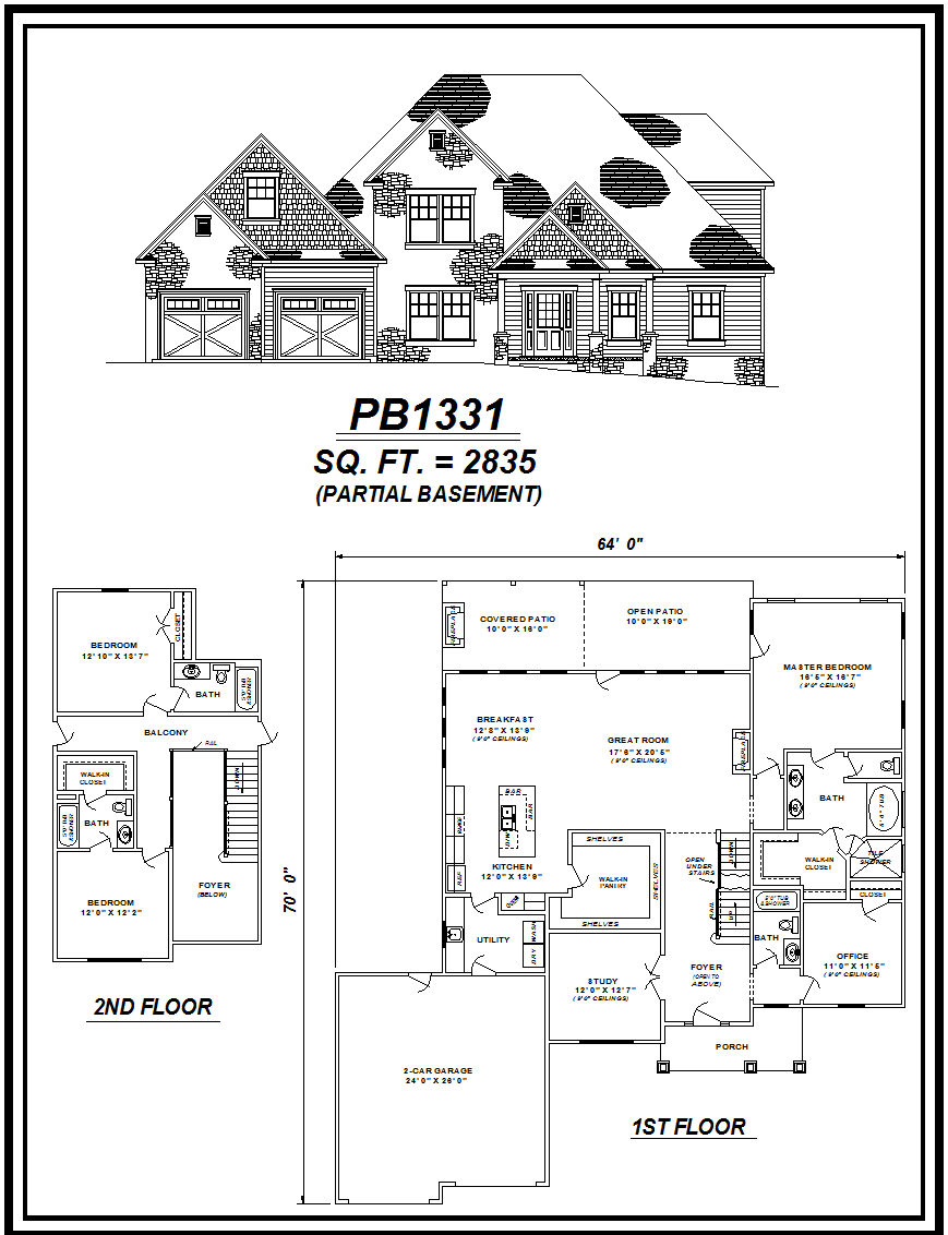 picture of house plan #PB1331