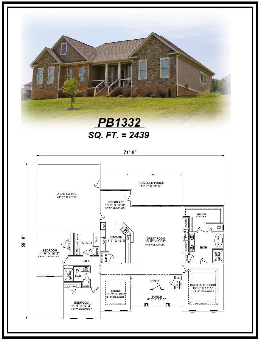 picture of house plan #PB1332
