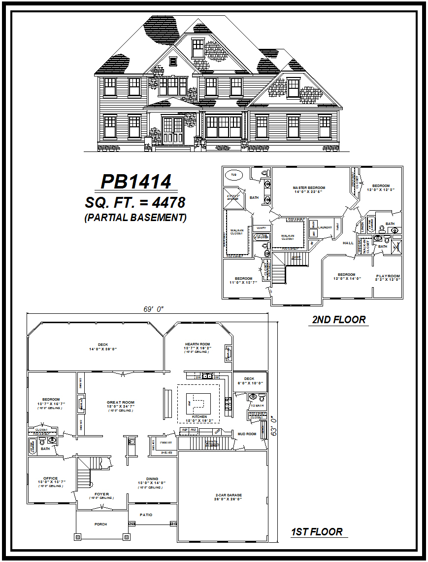 picture of house plan #PB1414