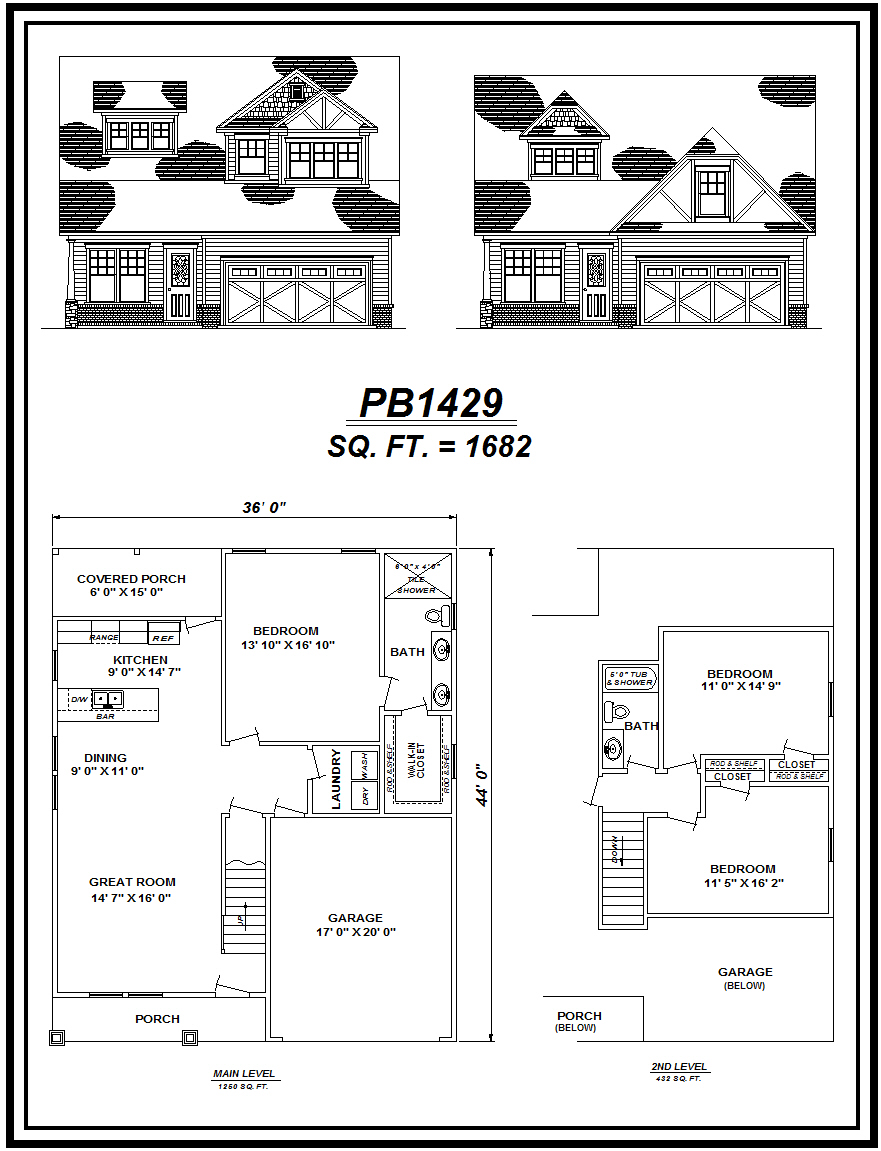 picture of house plan #PB1429