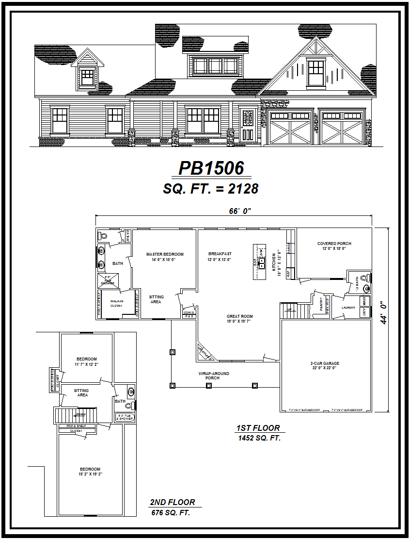 picture of house plan #PB1506