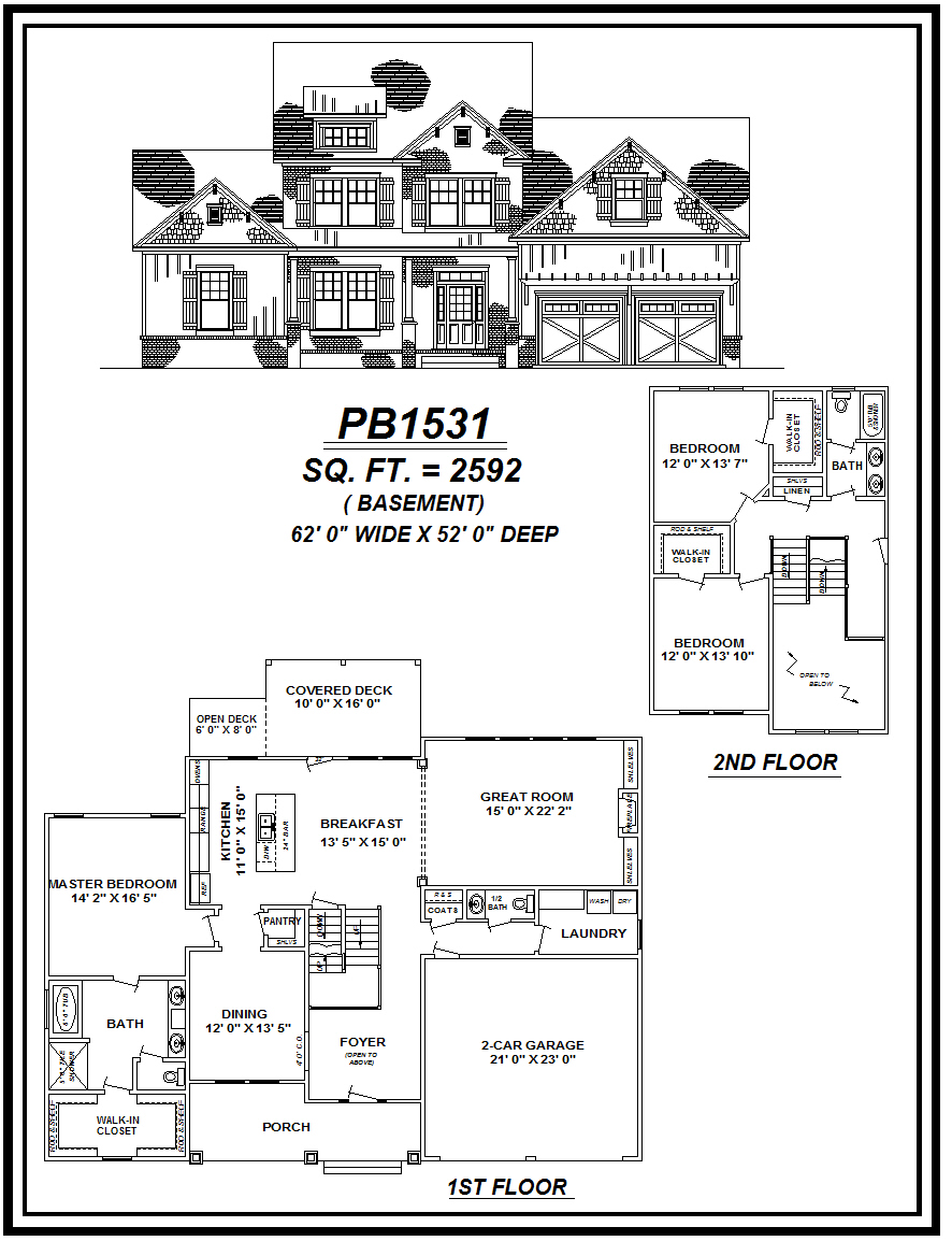 picture of house plan #PB1531