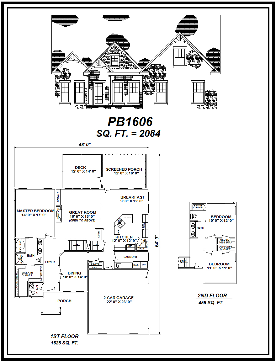 picture of house plan #PB1606