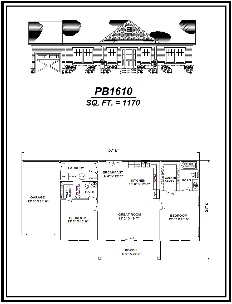 picture of house plan #PB1610