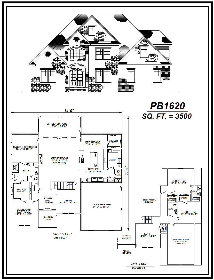picture of house plan #PB1620