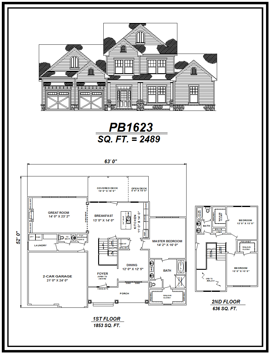 picture of house plan #PB1623