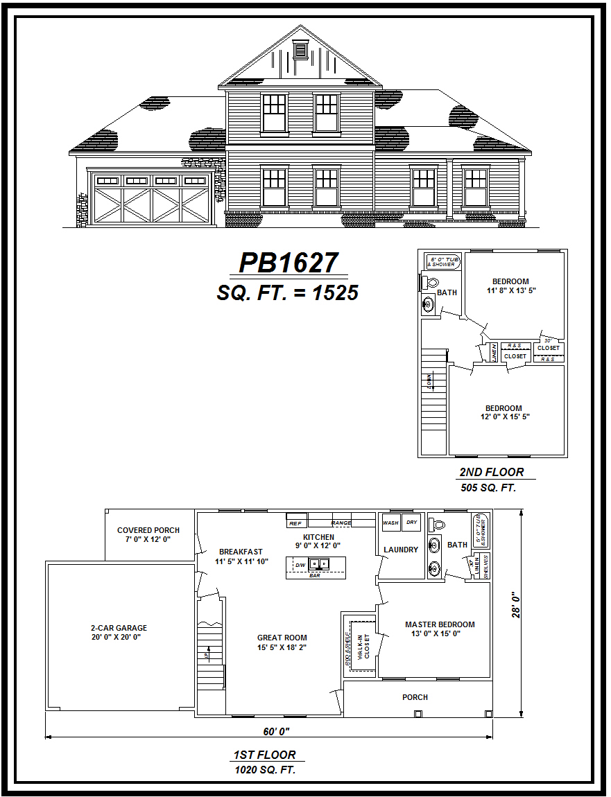 picture of house plan #PB1627