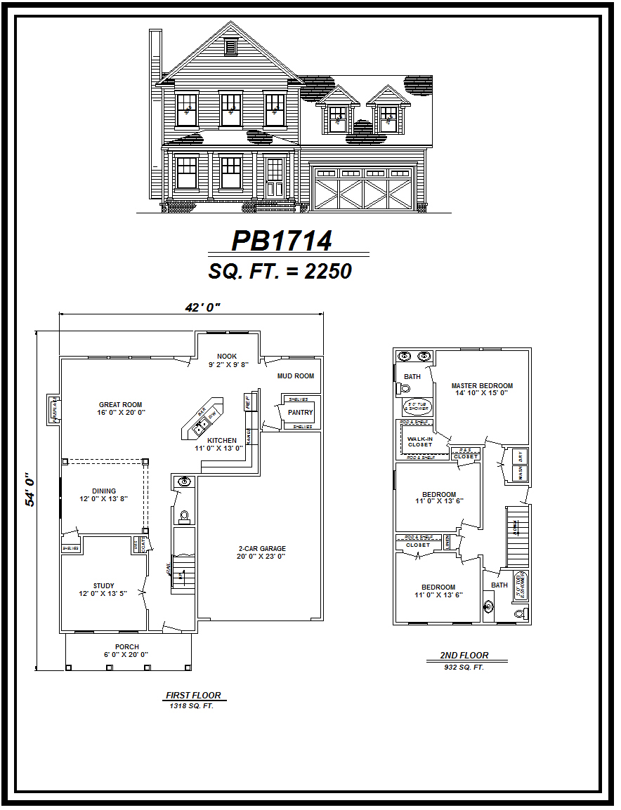 picture of house plan #PB1714