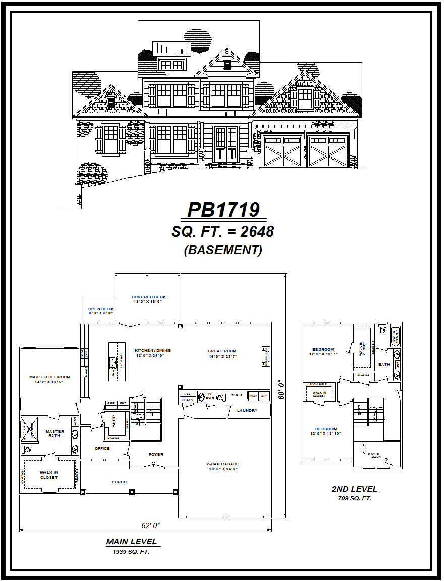 picture of house plan #PB1719