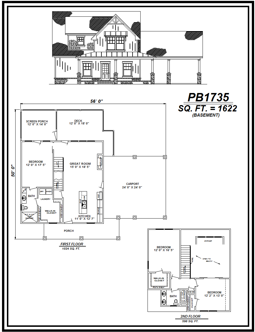 picture of house plan #PB1735