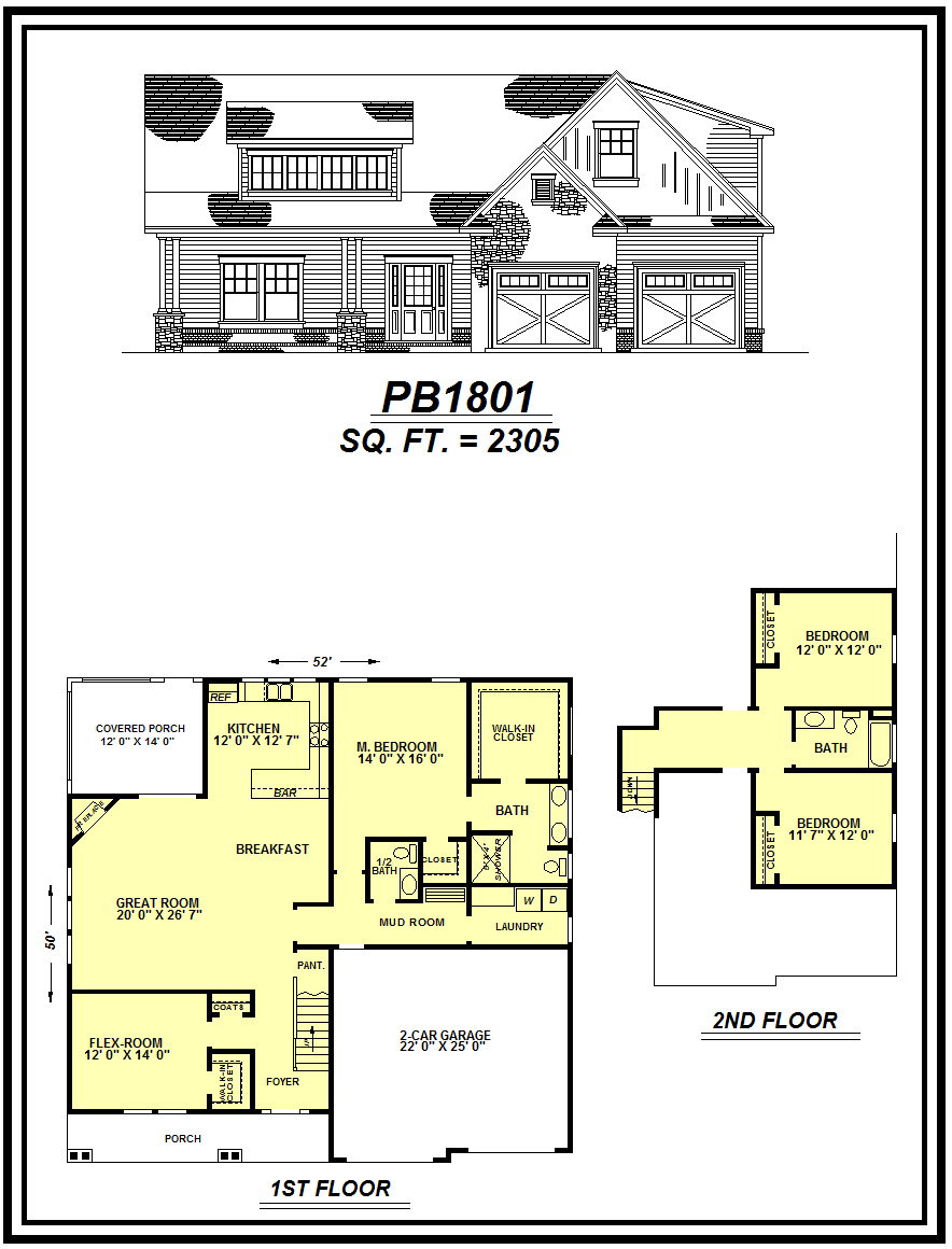 picture of house plan #PB1801