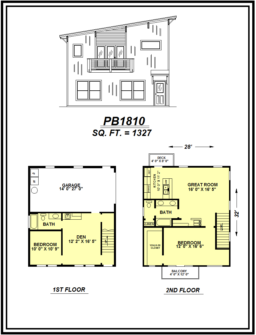 picture of house plan #PB1810