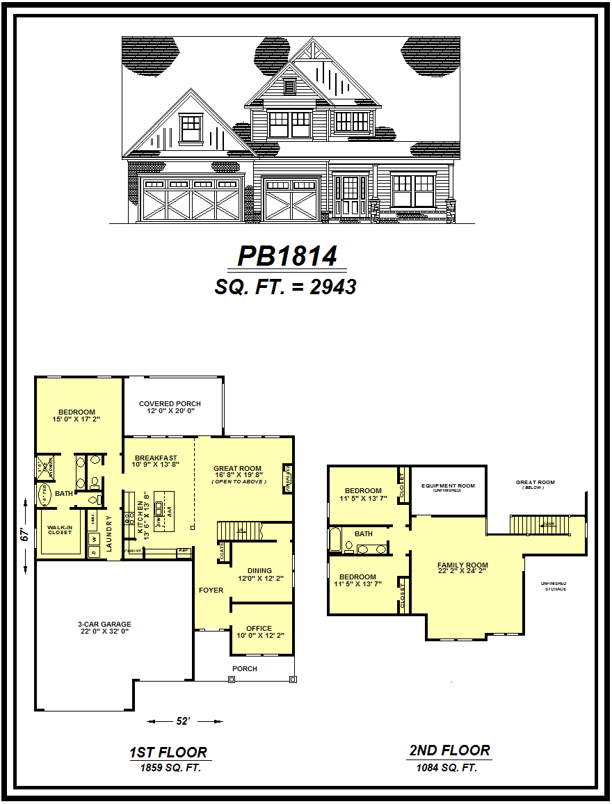 picture of house plan #PB1814