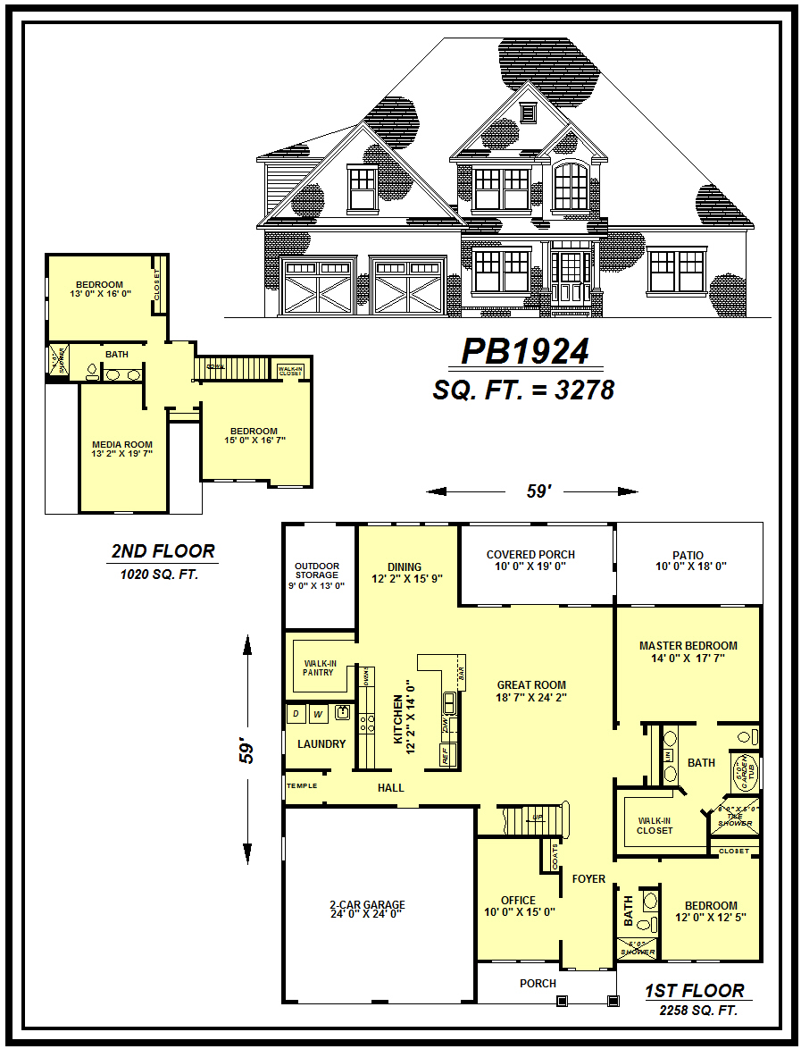 picture of house plan #PB1924