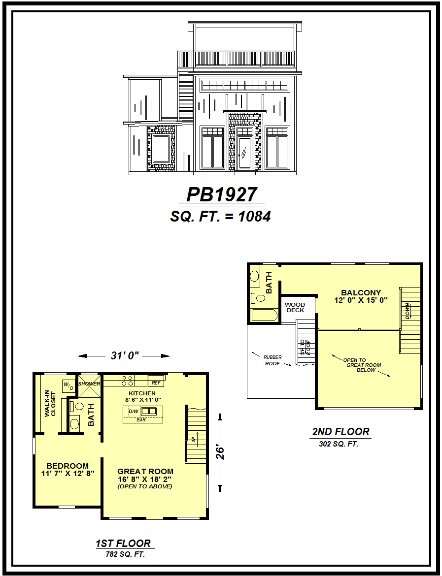 picture of house plan #PB1927