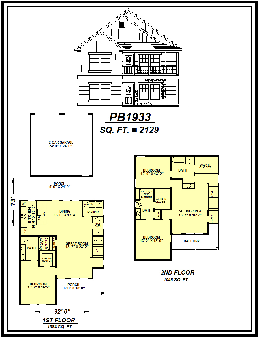 picture of house plan #PB1933